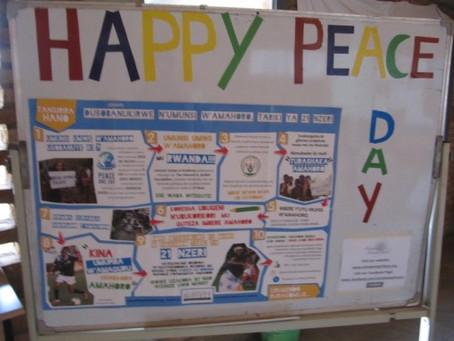 Peace Day Celebration at Umubano Primary School