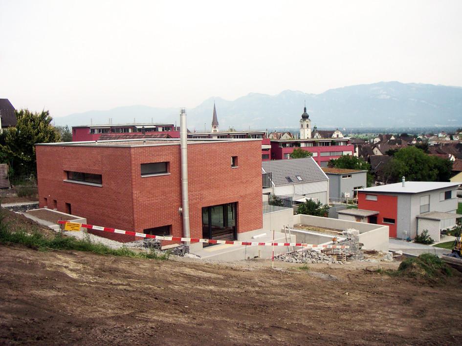 Neubau EFH, Altstätten