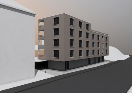 Neubau Wohnhaus Langgasse, St. Gallen
