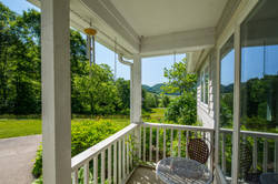 The sunny side kitchen porch