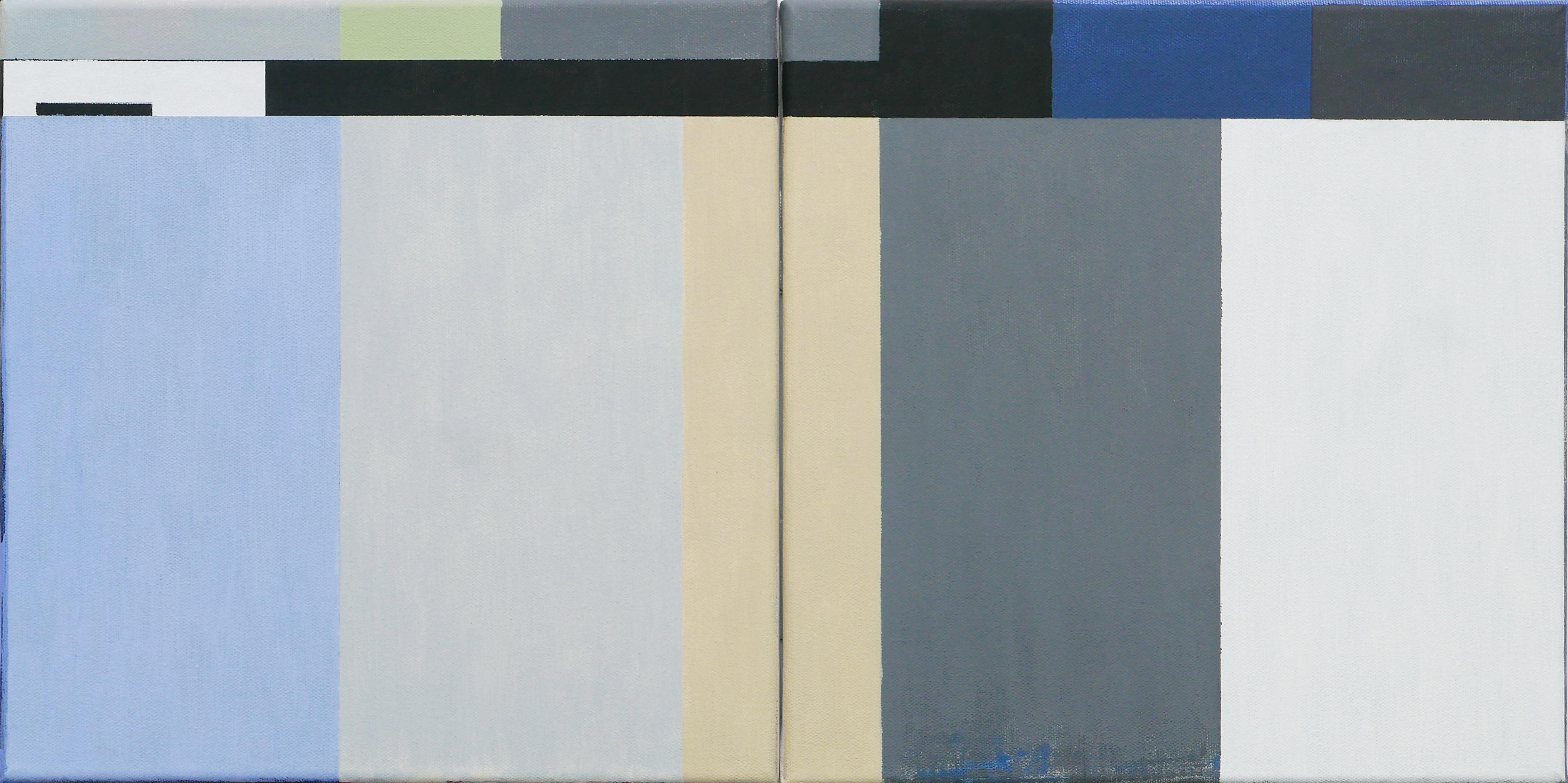 Shoreline. Acrylic on canvas, 300 X 600