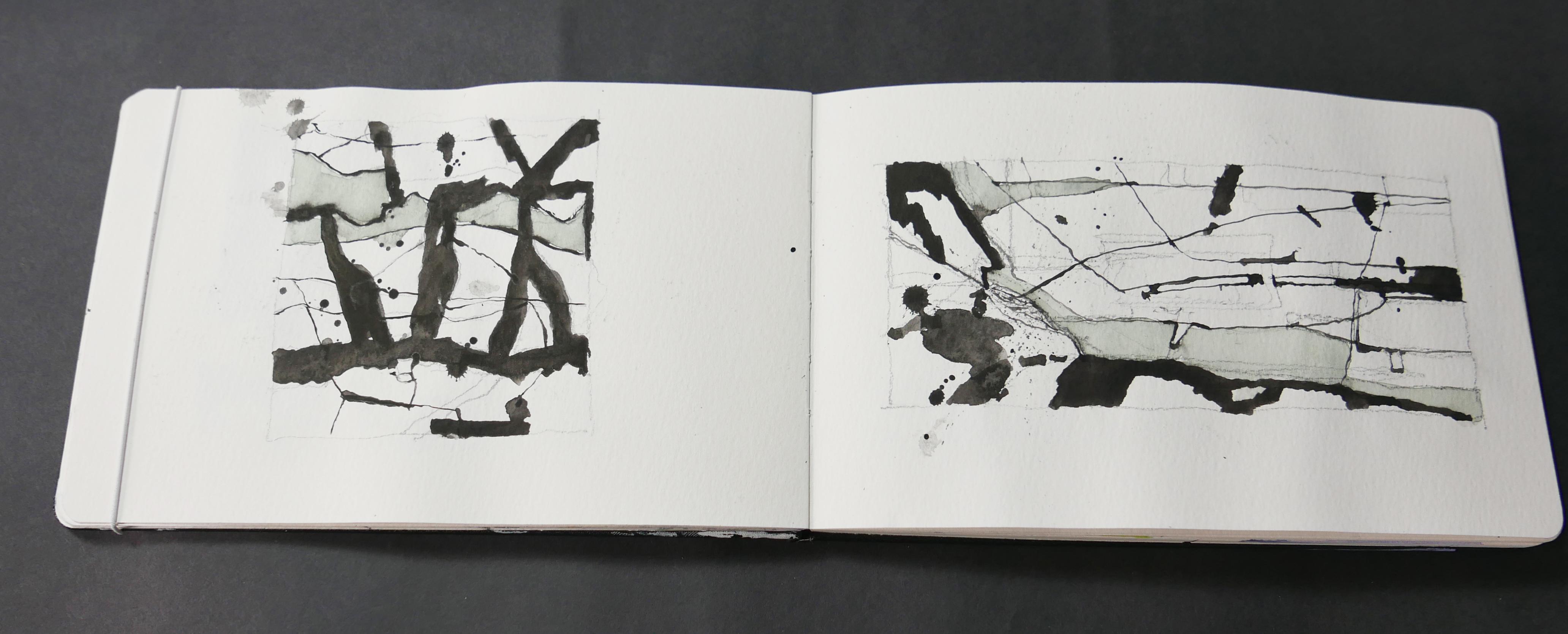 Cwm Croesor sketch study