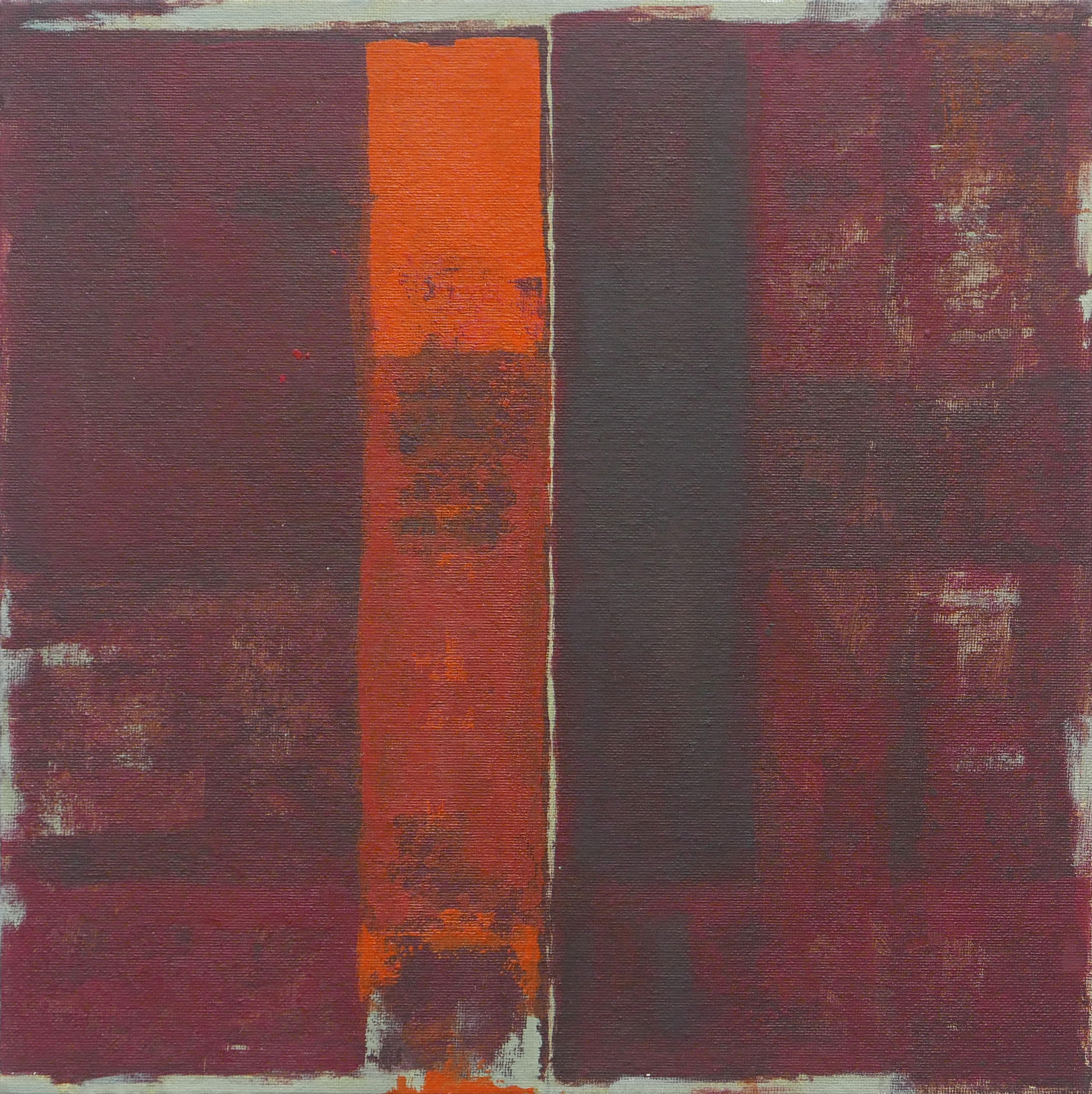 Ormesini. Acrylic on canvas panel, 340 X 340 (framed)