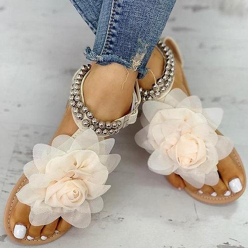 Peach Bohemia Sandals