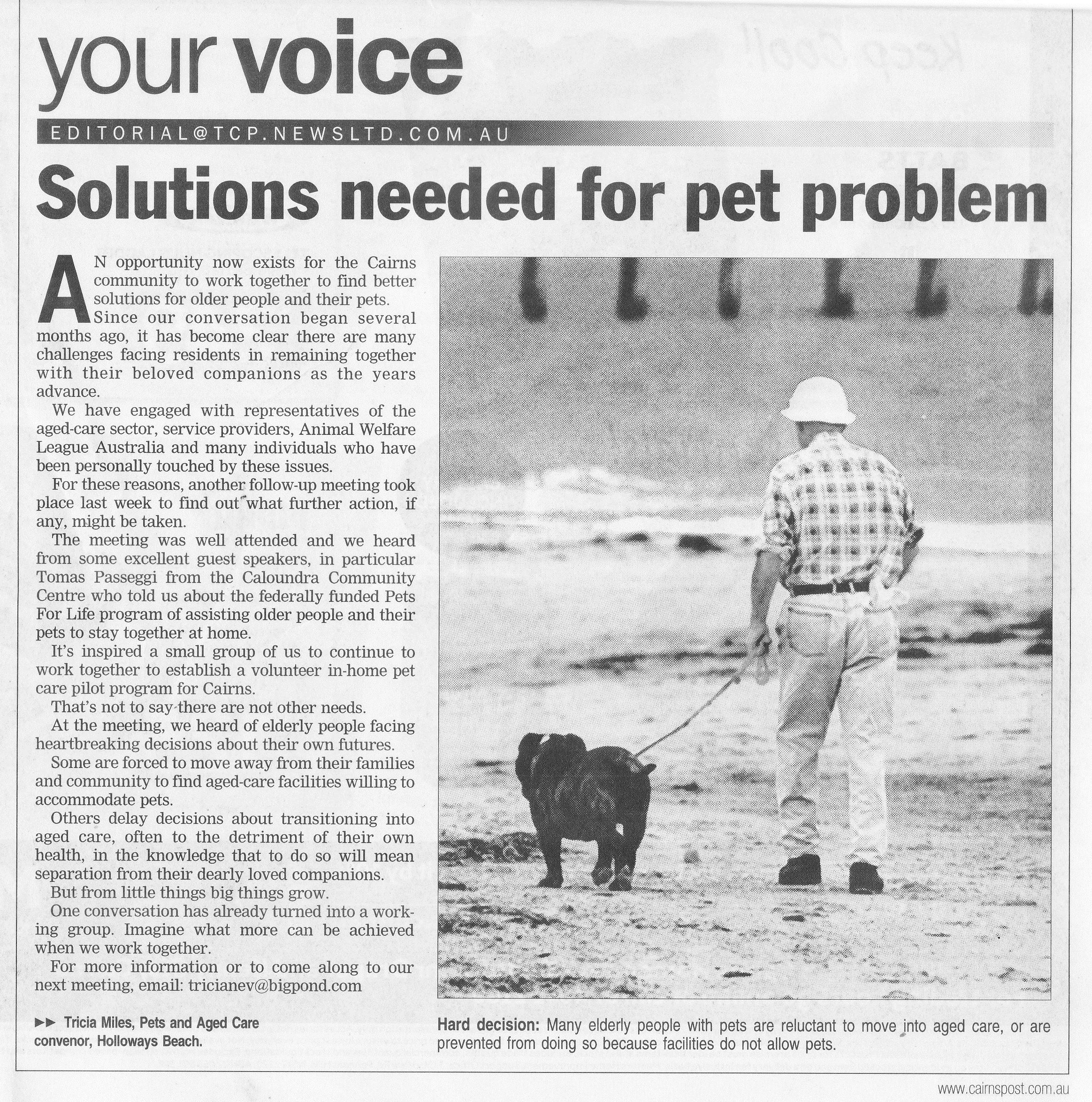 Cairns Post 22 November 2013