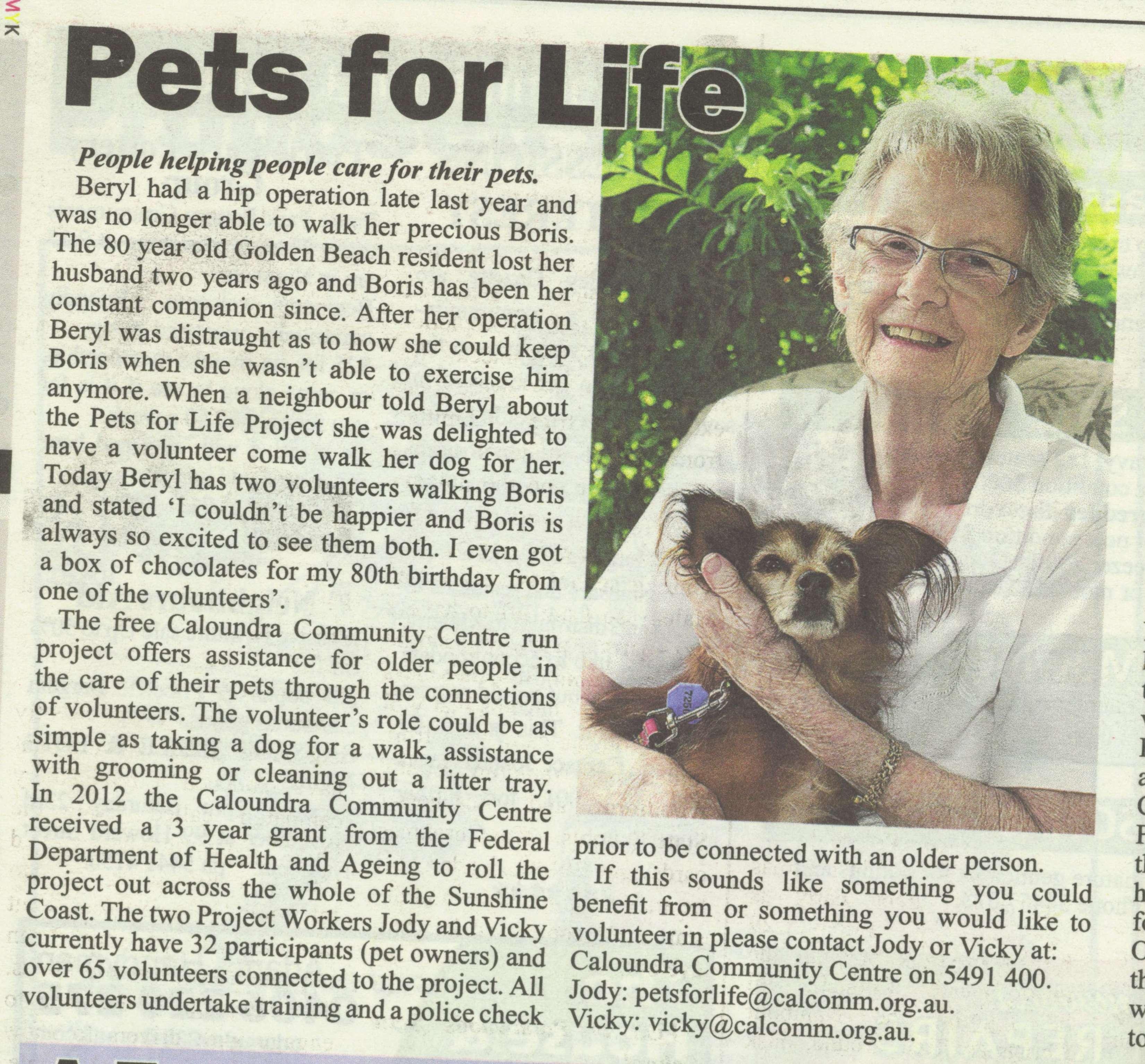 Sunshine Valley Gazette 20th November 2013