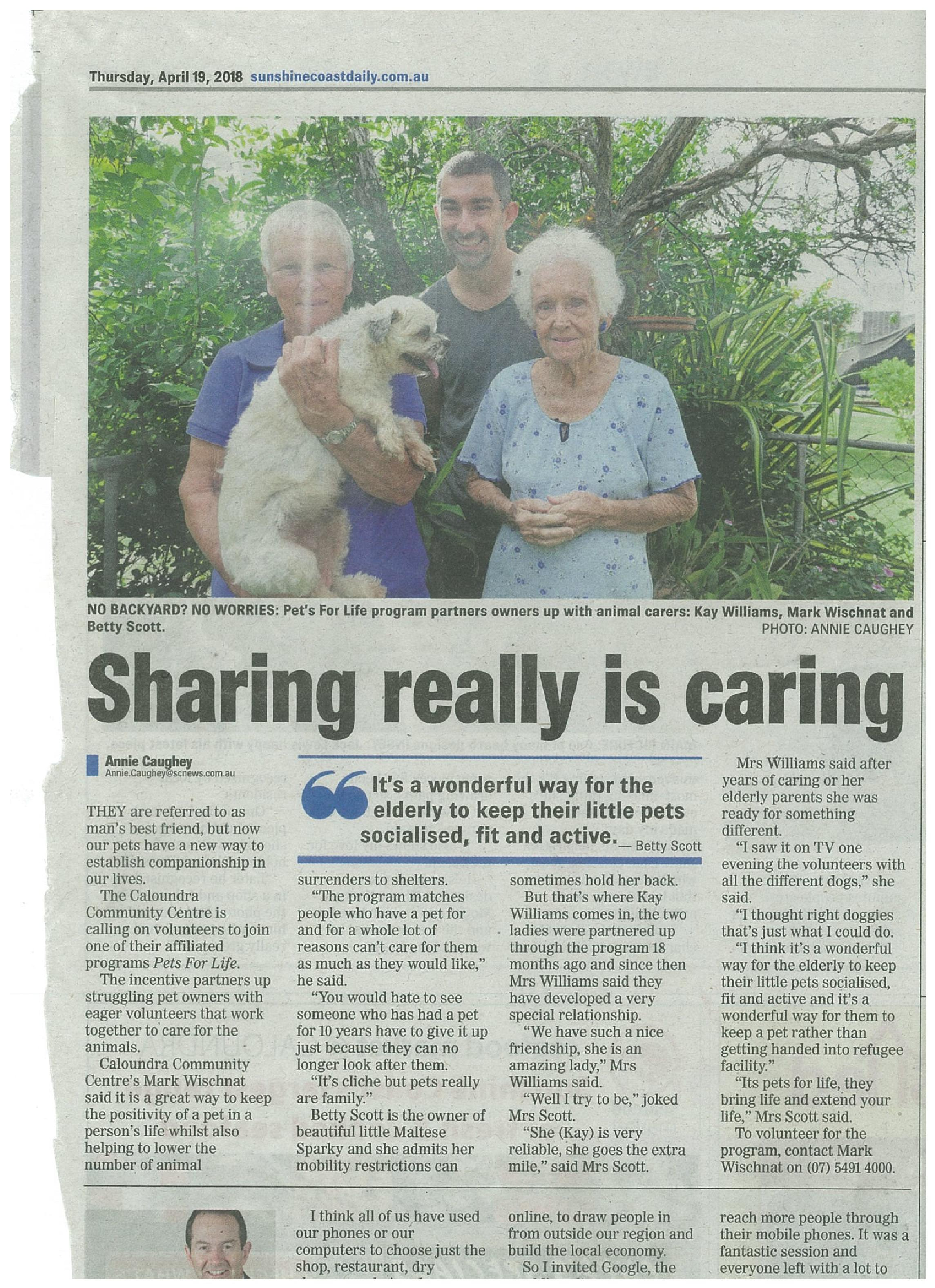 Sunshine Coast Daily 19 April 2018-page-