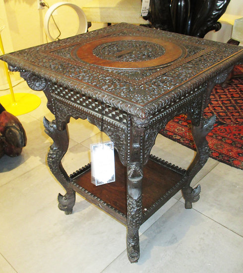 Carved Bankok Period Thai Table