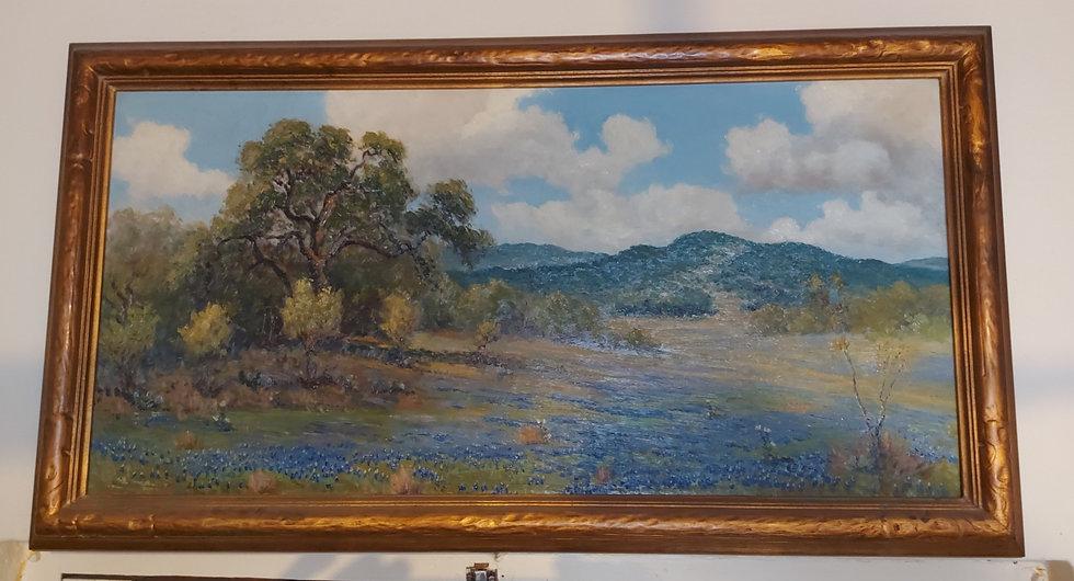 Viveano-Lopez-1946-bluebonnets-painting