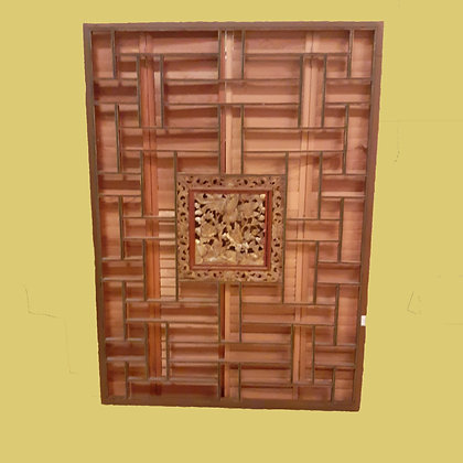 Chinese Room Divider or Screen, Hand Carved and Gilt