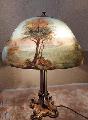 Moe-Bridges-reverse-painted-lamp-1920's