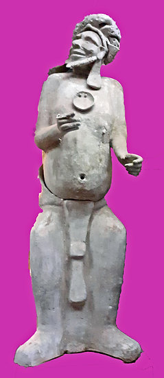 Clay Pre-Hispanic Figure