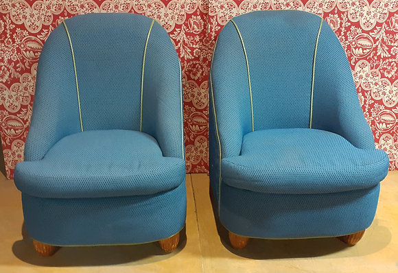 Pr. Edgecombe Armless Chairs