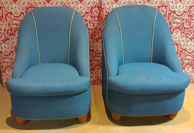 Pr. Edgecombe Armless Chairs