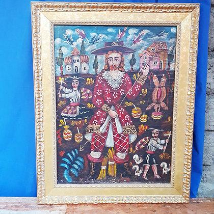 Peruvian Painting of San Isidro Labrador