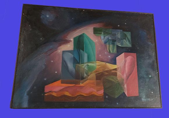 "Martin de la Torre Vega, Original Work ""Estructuralismo"", 1960's"