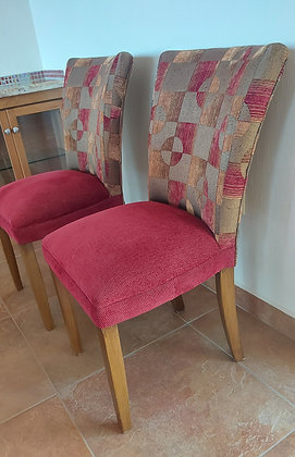 """Pair of Good Quality High Chairs, Bar Chairs?  Seats = 23"""" tall"""