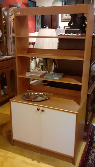 Vintage Ikea Office Cabinet and Shelving