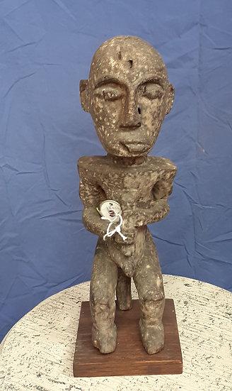 "Gabon Reliquary Figure, 16"" tall"