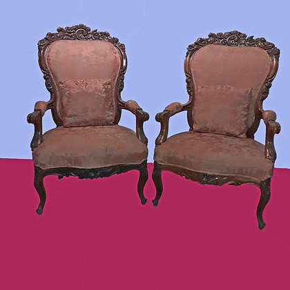 Pair of Antique Victorian Chairs