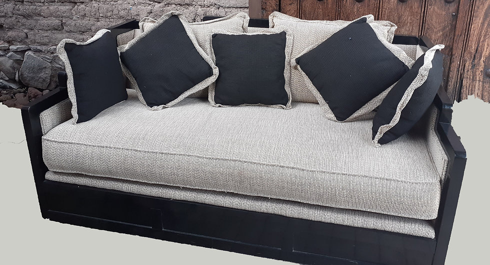 Sofa/Loveseat Custom Made, Day Bed Size, Fabric As-Is