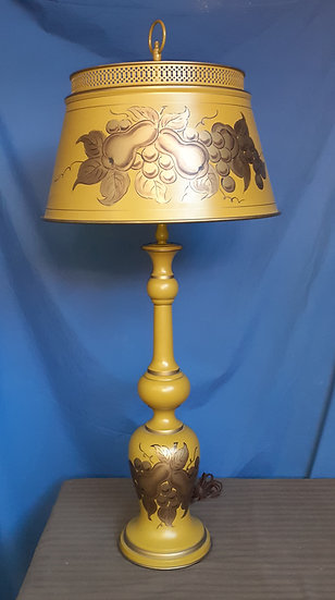 Tole Lamp made in USA