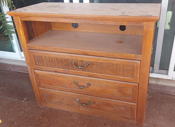 """Mexican, Rustic Chest of Drawers/TV Cabinet, 36"""" tall, 43"""" wide"""