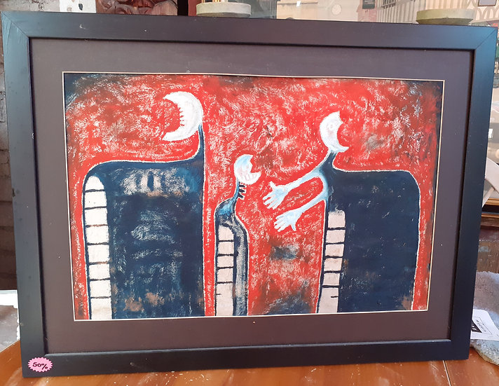 Isidro Xilotl Original Artworks, #1 of 3, signed and dated 2009