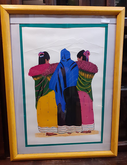 Jose Manuel Robles, Limited Edition Print, Tlaquepaque Artist