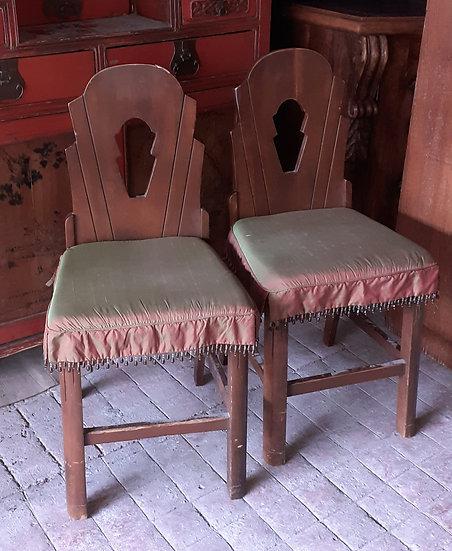 4 Art Deco Chairs