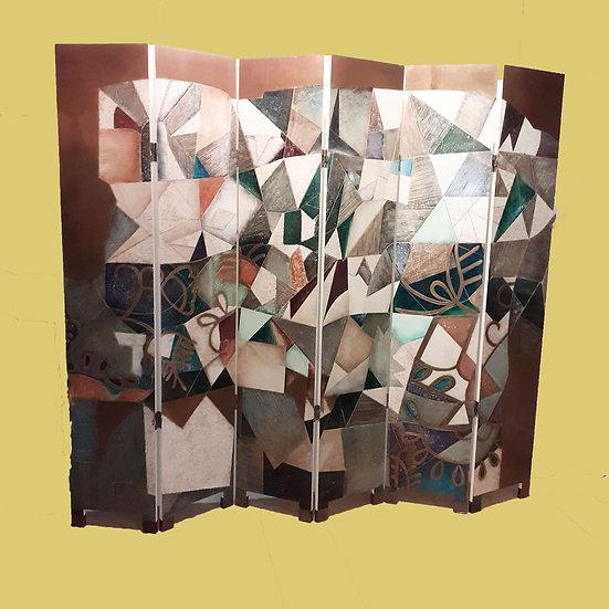 Contemporary Folding Screen