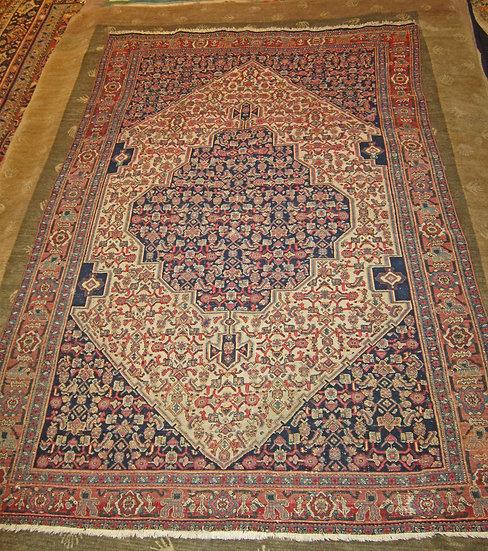 Senneh -  Malayer- Iran - Kurdish - Rug - Antique Carpet