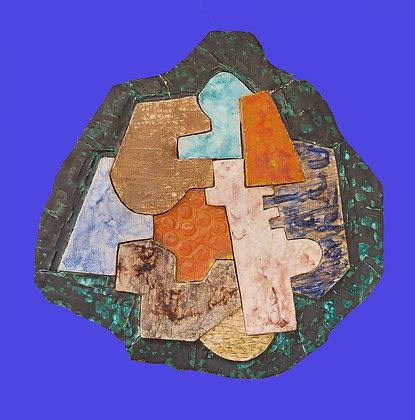 Sergio Cuevas Corona, Vintage Work, Glazed Fired Clay Sculpture