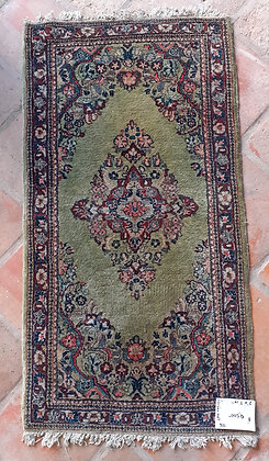 "Kashan Rug, 2' by 3' 10"", Persian"