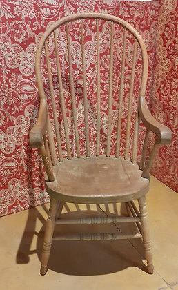 Antique American Hoop Back Arm Chair