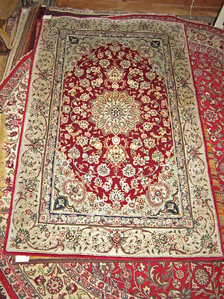Indian-Hooked -Rug, Classic-Design