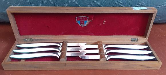 Vintage Gerber Miming Steak Knives
