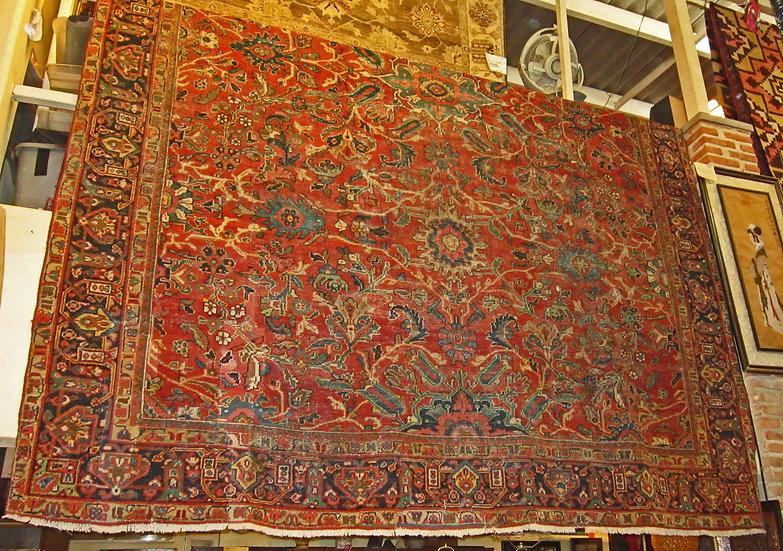 Antique-Persian-Mahal-Carpet, 1890s- Iran