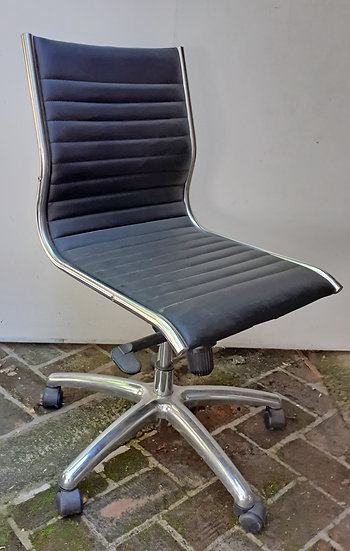 Global  Knoll Style Office Chair, Swivel, adjustable height
