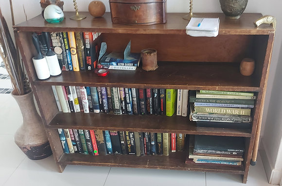 """Mexican, Rustic Bookcase, 36"""" tall, 45"""" wide"""