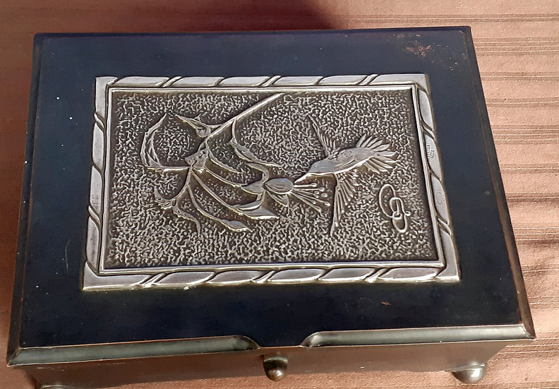 Silver Metalwork Box