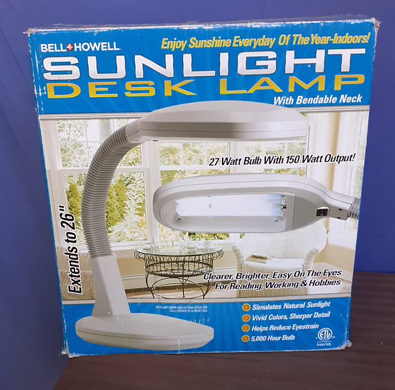 Sunlight Desk Lamp Bell & Howell