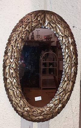 Acanthus Wreath Oval Mirror