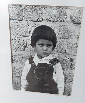 Original Photo by Monica Vergara, 1983