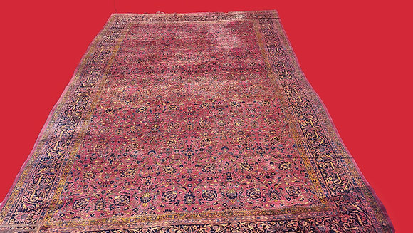 """Palace  Size Kashan, Manchester Wool, 17' 2"""" x 11´ 10"""". Ex. Cond. New Arrival!"""