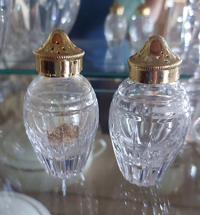 Waterford Marquis, Salt & Pepper, Ex. Condition