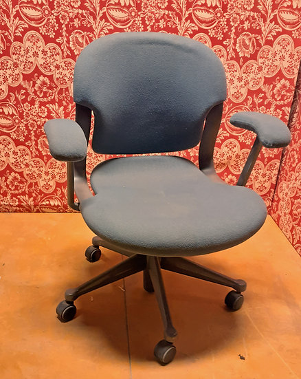 Herman Miller Equa Chair, Gray Cloth, Molded Body