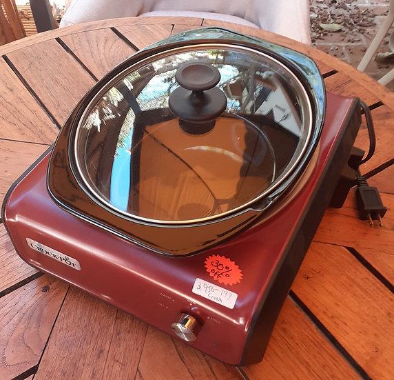 Rival Crock Pot, Oval Connectable, 3.5-Quart