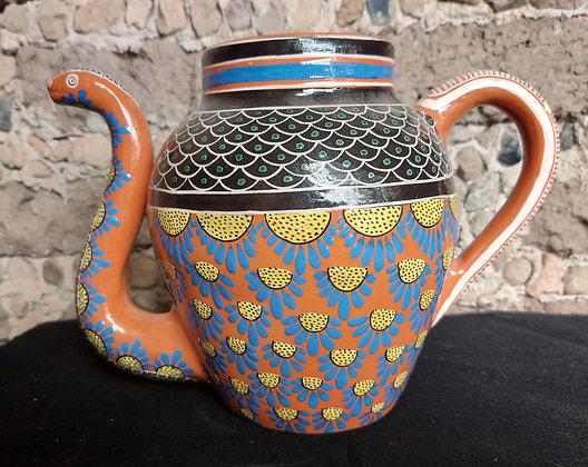 Jose-Bernabe-Teapot-Tonala-Mexican-Tourist-Pottery