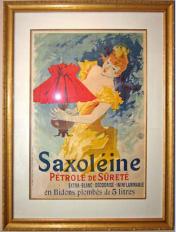 Saxolėine Color Lithograph, Ateliers Chėret, Paris , 1892
